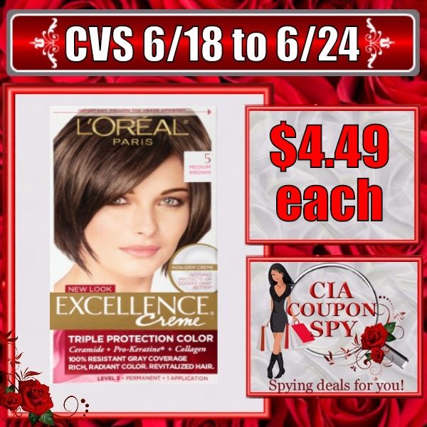 Save On L'Oreal Excellence Hair Color
