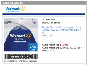 Can you use walmart gift card in canada