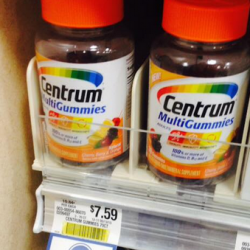 Stay Healthy With Centrum MultiGummies Now $1.09