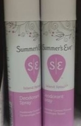Summers Eve Spray FREE